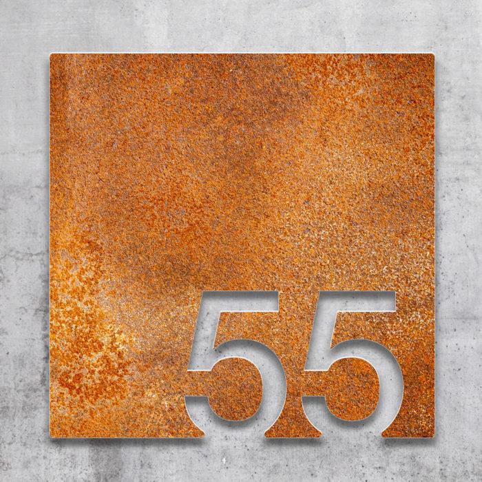 Vintage Zimmernummer 55 / Z.03.055.R 2