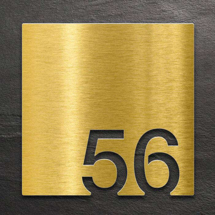 Messing Zimmernummer 56 / Z.03.056.M 1