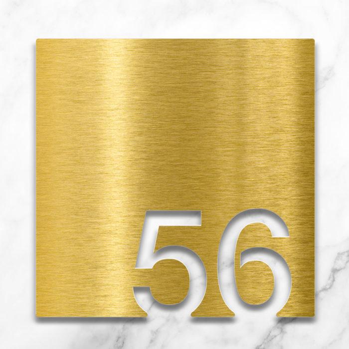 Messing Zimmernummer 56 / Z.03.056.M 2