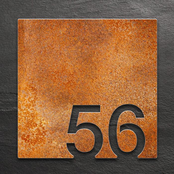 Vintage Zimmernummer 56 / Z.03.056.R 1