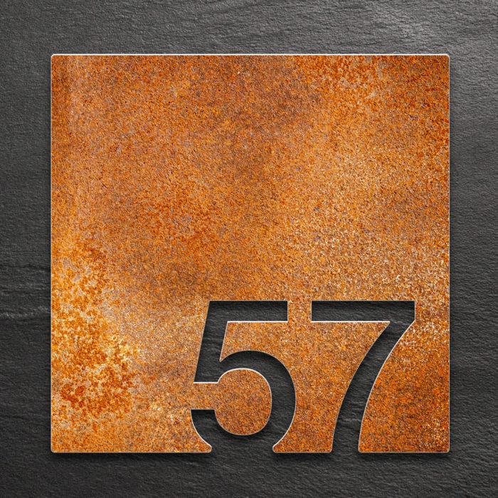 Vintage Zimmernummer 57 / Z.03.057.R 1