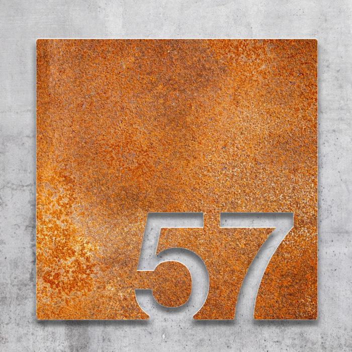 Vintage Zimmernummer 57 / Z.03.057.R 2
