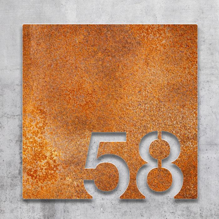 Vintage Zimmernummer 58 / Z.03.058.R 2
