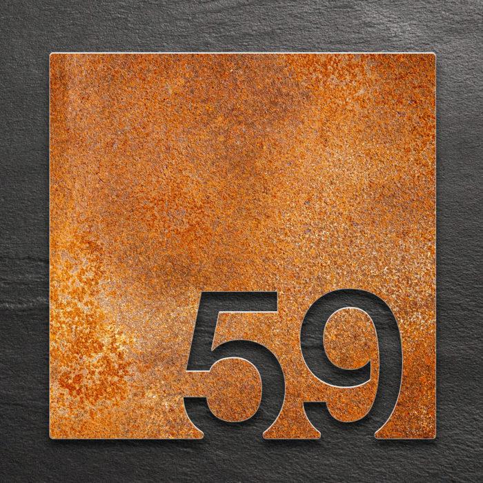 Vintage Zimmernummer 59 / Z.03.059.R 1