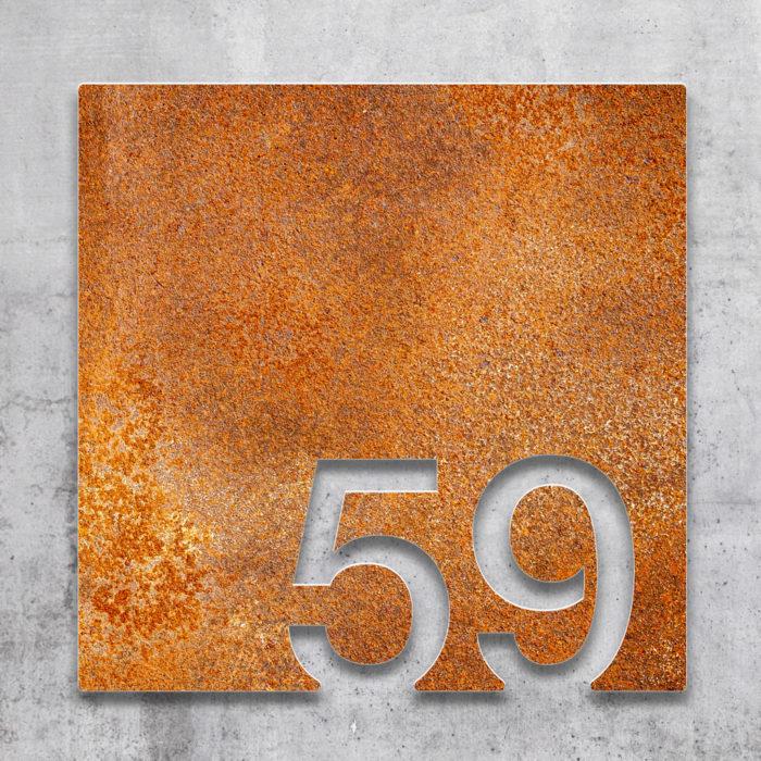 Vintage Zimmernummer 59 / Z.03.059.R 2
