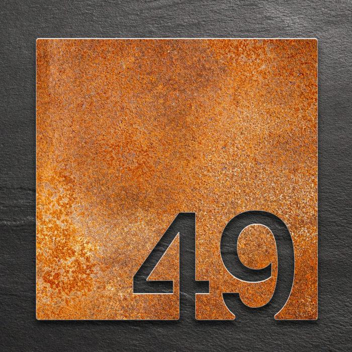Vintage Zimmernummer 49 / Z.03.049.R 1